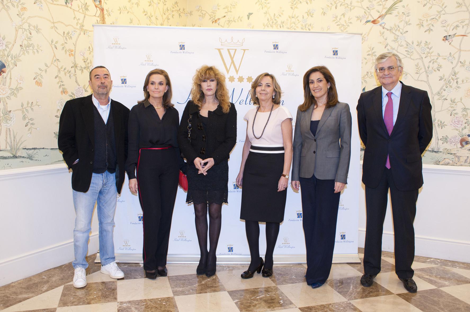 Ponentes y miembros de la Fundación Wellington